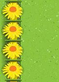Abstact floral. ilustración vectorial — Vector de stock