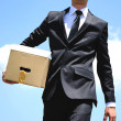 Business Man delivery — Stock Photo #11696916