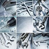 Metalen hulpmiddelen — Stockfoto