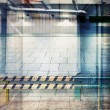 Industrial background — Stockfoto