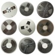 Audio reels — Stock Photo