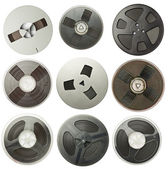 Audio reels — Stock fotografie