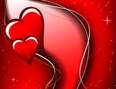 Walentynki karty - ilustracja wektorowa - jpeg wersja w mój portfel — Stockvector