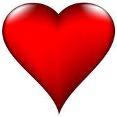 Valentine's day heart - vector illustration - jpeg version in my portfolio — Stock Vector