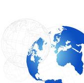 3d 地球-矢量图 — 图库矢量图片