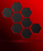 Rode abstracte achtergrond — Stockvector
