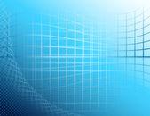 ブルー抽象的な構成 — ストックベクタ