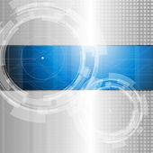 Fondo de tecnología abstracto - ilustración vectorial — Vector de stock