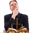 Attorney thinking — Stock Photo #10977381