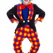 Foto Stock: Clown in funny posture