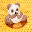 Teddybear cake — Stock Photo