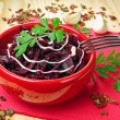 Stock Photo: Beetroot salad