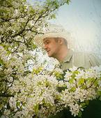 Giardinaggio di primavera — Foto Stock
