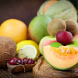 Fruit variety — Stock Photo #11767616