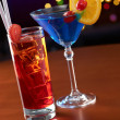 Summer cocktails in bar — Stock Photo #11147577