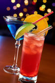Two colorful cocktails — Stock Photo