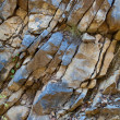 Mountain wall close-up — Stock Photo