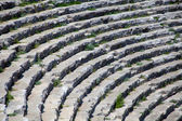Fragment of a stone amphitheater stands — Stock Photo