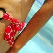 Lady bikini detail — Stock Photo