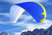 Paraglider wing detail — Stockfoto