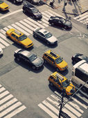 Rush Hour in Manhattan — Stock Photo