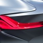 Futuristic Car Detail — Stock Photo #10840077