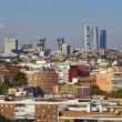 Madrid Skyline — Stock Photo