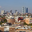 Madrid Skyline - Stock Photo