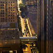 Stock Photo: Morning Light in Chicago Streets