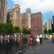 Crown Fountain, Chicago — Stock Photo