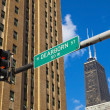 North Dearborn Street - Stock Photo