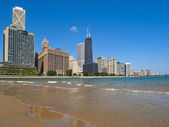 Ohio Street Beach, Chicago — Stock fotografie
