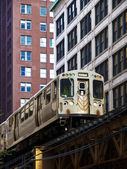 "The Chicago ""L"" Train — Stok fotoğraf"