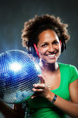 Funky Disco Girl — Stock Photo