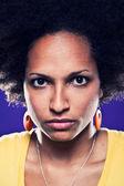Portrait d'afro american girl — Photo