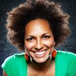 Afroamerican Woman Portrait — Stock Photo