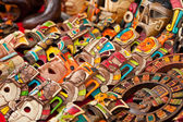 Mayan Wood Souvenirs — Stock Photo