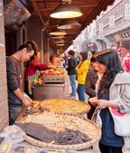 Chinese street market — Stock Photo