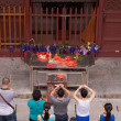 Chinese Buddhism prayers — Stock Photo
