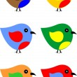 Rare bird — Vector de stock #10857347