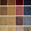 Carpet samples — Foto Stock
