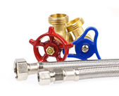 Plumbing parts — Stock Photo