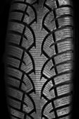 Tire tread closeup — Stock Photo