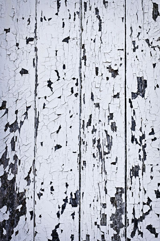 Background of old wood boards with peeling paint — Stock Photo #11551146