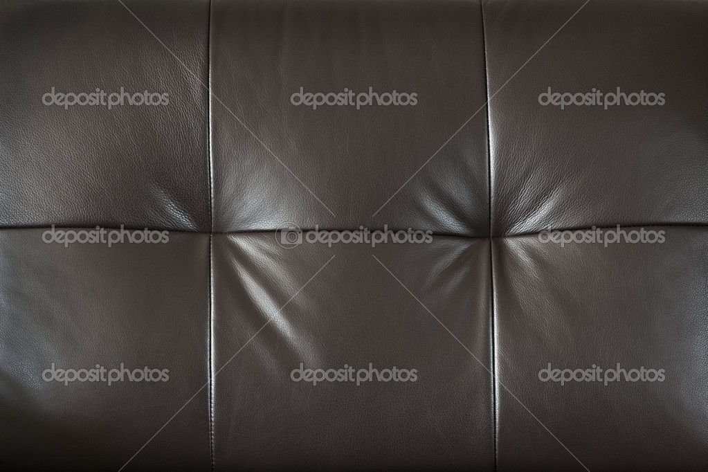 Closeup of luxurious expensive brown leather furniture, background — Stock Photo #11551172