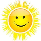 The sun illustration — Stock Vector