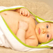 Clean baby — Stock Photo