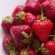 Stock Photo: Strawberry on the dish