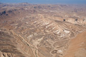 Mountain valley near Dead Sea — Stock Photo