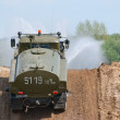 Stock Photo: URAL-43206 sprinkler truck